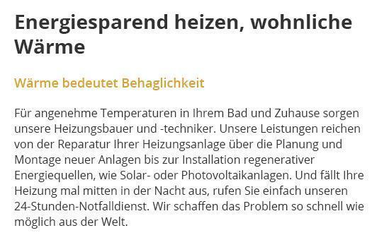 Heizungsbau in  Wohltorf